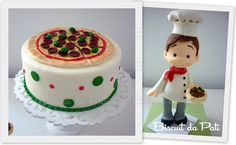 Pizzaiolo by Biscuit da Pati, via Flickr - Pizza - Italian Cake