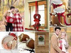 The Perfect Palette: {Cozy Little Christmas}: A Palette of Red, Latte, Camel + White