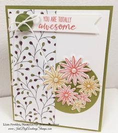There are so many fabulous bundles in the Stampin'Up! Occasions Catalog. I have always loved how Stampin'Up! products coordinate, but it seems to get better with every new catalog. I don't mind fussy cutting, but it sure makes creating fun and easy when their are punches and dies that do the work for us. This …