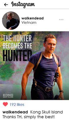 "walkendead: ""Kong Skull Island Thanks TH, simply the best!"" (https://www.instagram.com/p/BQqguHJDS8g/ )"