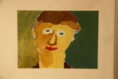Rembrandt inspired selfportret.Made by Iwan.