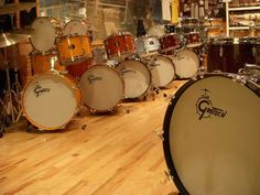 Lots of great vintage drum gear  http://www.vintageandrare.com/category/Drums-Percussion-216