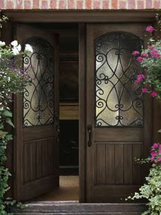 Awesome Beautiful Double Entry Doors