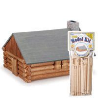 Log Cabin Model Kit This Is A Wood Model Craft Kit That