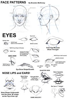deviantart:  Face Patterns Tutorial by Snigom  This is great! I get a lot of requests for tips on drawing faces, which I will still do - but this looks a lot like what I'd be explaining!