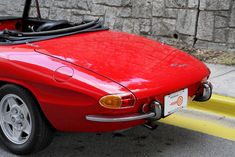 Used 1967 Alfa Romeo Duetto for Sale in Atlanta GA 30306 Motorcar Studio