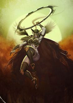 Maiev Shadowsong / Mortred.
