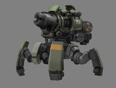 ArtStation - mobile artillery, yin lee