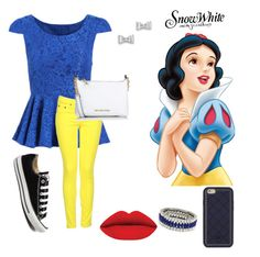 """Snow White's Style"" by adriegirl18 on Polyvore featuring beauty, rag & bone, Converse, Michael Kors, Tory Burch, Marc by Marc Jacobs and Kenneth Jay Lane"