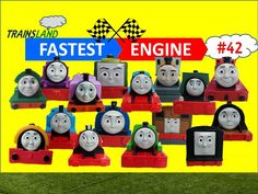 Thomas and Friends- The World's FASTEST ENGINE Competition #42