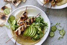 Hypoallergenic Pet Dog Food Items Diet Program Chicken Tawook Quinoa Bowls From - These Succulent Chicken Skewers Are The Best Whatsgabycookin Whats Gaby Cooking, Slow Cooking, Cooking Recipes, Healthy Recipes, Healthy Eats, Carrot Recipes, Batch Cooking, Cookbook Recipes, Healthy Cooking