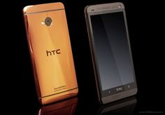 HTC One gold edition built by Gold Genie