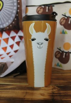 Every college student needs a good travel mug for coffee  I am so in  adoration of my Llama Portrait travel mug  designed by Jean Gregory Adams Llama Coin Charm  Peru  1967    Coins  Products and Llamas. The Dapper Llama Menlo Park Lamps. Home Design Ideas