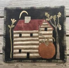 Unique API key is not valid for this user. Wool Applique Patterns, Quilt Block Patterns, Primitive Halloween Decor, Primitive Decor, Felt Pillow, Wool Quilts, Hand Hooked Rugs, Wool Pillows, Penny Rugs