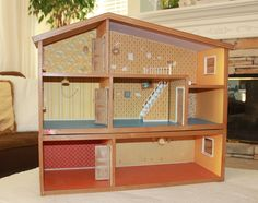 Lundby dollhouse; exact one + addition I have; same wall papers!