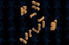 Powder Kegg Puzzle Wooden Toy - SOLIDWORKS,STEP / IGES,Parasolid - 3D CAD model - GrabCAD
