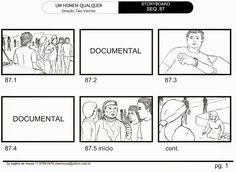 Filme Um Homem Qualquer Storyboar: Rogério de Moura