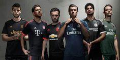 Adidas Alternative Kits 2015-16
