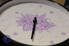 #zegar #watch #folk #ornaments #flower #handmade #handpainted