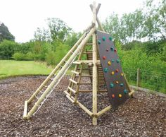 Our Pyramid Climb Frame is a unique product offering a ramp with pull rope, two climbing ladders, a net frame and a climbing rock wall. Three 3.5m x 10cm diameter legs with 8cm diameter timber base frames form the main tripod structure. To add further interest create a secret den underneath the pyramid structure with a camo net. Other …