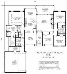 Plan 83872JW: Southern House Plan with Bonus Space | Family room ...
