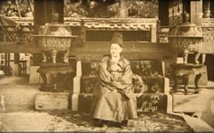 """The Crown Prince of Korea, Soon Jung [sic]"" Percival Lowell photo ca. Unusual relaxed pose with half-smile. Looks about 10 years old. Asian History, Modern History, Seoul Korea, North Korea, Half Smile, Korean Photo, Korean Peninsula, Korean Hanbok, Royal Life"