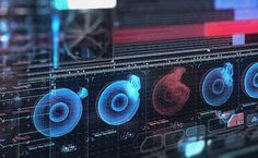 HUD and GUI designs for Killzone: Shadow Fall Working from San Diego with Guerrilla Games in Amsterdam. Sound Design, Ui Design, Graphic Design, Graph Visualization, Killzone Shadow Fall, Holography, Head Up Display, Charts And Graphs, Ui Elements