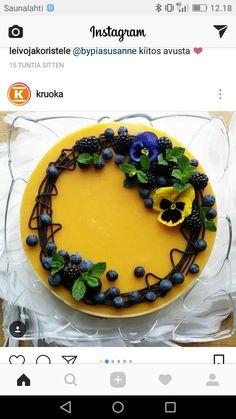 Birthday Parties, Birthday Cake, No Bake Cake, Tart, Eye Candy, Mango, Sweets, Desserts, Recipes