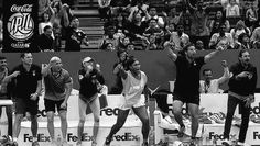 12/4/14 Via  IPTL retweeted  Andre Agassi:  #TEAM. Pulled out the W with these greats!!! #HONORED @iptl @dbssgslammers   Serena Williams, Nicholas Kyrgios, Lleyton Hewitt and 2 others