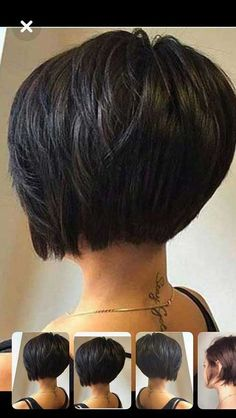 Best Short Bob Haircuts for Women Side-Parted Short Bob Haircut Best short bob hairstyles for women Bob Haircuts For Women, Best Short Haircuts, Short Hair Cuts For Women, Short Hairstyles For Women, Haircut Short, Pixie Bob Haircut, Short Bob Cuts, Short Bob With Layers, Back Of Bob Haircut