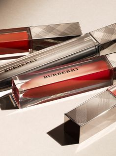Bold lips in signature red from the new Burberry beauty heritage collection