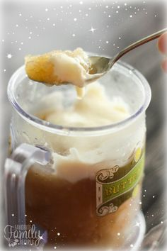 This Frozen Butterbeer Recipe from the Harry Potter books is the perfect way to celebrate the new movie Fantastic Beasts and Where to Find Them!