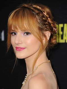 Bella Thorne looks AMAZING in this milkmaid braid! It's so simple to DIY!
