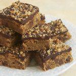 Chocolate Chip Ganache Blondies - Bake or Break