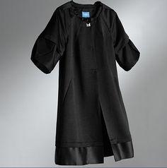 Vera Wang Satin Coat