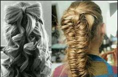 Bride and brides maids hair styles!!