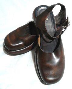 5498683d7f Women's Dansko Mary Jane Clog Sam Antique Brown Leather MSRP $120 #Dansko # Clogs #