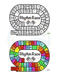 Music Centers: Rhythm Race Note Naming Edition Level 5 - Rhythm Game