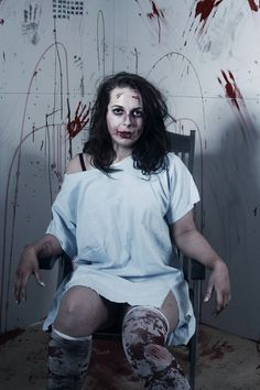 1960's Mental Asylum: Promiscuous Patient MUA, Hair, Props, Costume & Set: Liam Bannigan (BGN)