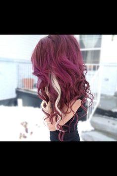 My nx hair color.