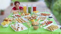 Come preparare un buffet salato completo fatto in casa in modo facile. Stuzzichini, tramezzini, salatini, pizzette e panini, per ogni...
