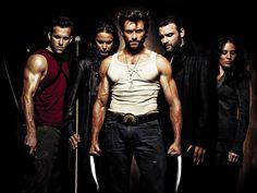WOLVERINE!!!!!!!!!!  Ryan Reynolds, Taylor Kitsch, Hugh Jackman, Liev Schrieber.... mannnn