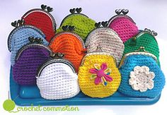 Ravelry: Crochet Coin Purse with lining pattern by Dea Dougherty