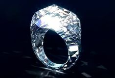 Shawish Geneva, The RING carved straight out of a diamond!!