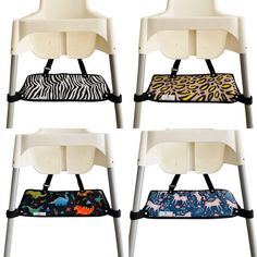 Footsi - Highchair Footrest - Limited Edition Prints - 5 options – Pimp my high chair Antilop High Chair, Fine Motor Skills Development, Footrest, Gross Motor, Wash Bags, Limited Edition Prints, Terrazzo, Memory Foam, Ikea