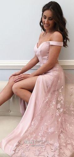 Long Prom Dresses Pink, A Line Prom Dresses Modest, Elegant Prom Dresses Halter, Beautiful Prom Dresses Chiffon
