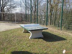 Pingpongtafel Afgerond Groen bij Wilhelm-Busch-Schule in Wissen