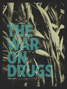 War On Drugs Austin City Limits Poster 2015