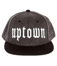 Uptown Wool Snapback: http://shop.nylon.com/collections/whats-new/products/uptown-wool-snapback #NYLONshop