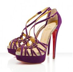 Christian Louboutin 8 Mignons 150mm Sandals Amethyste
